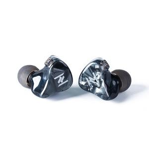 Image 3 - Ak yinyoo灰 1DD + 1BAハイブリッドで耳イヤホンハイファイ低音イヤホンインナーイヤー型headplug djヘッドセット交換ケーブルyinyoo v2 D2B4 トパーズ