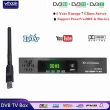 DVB-T2/S2 + DVB-C Combo HD Digital Terrestrial Satelliter TV
