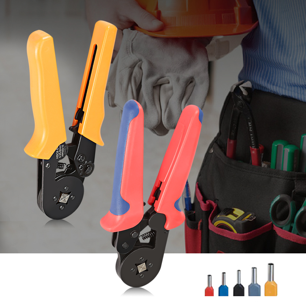 Multifunctional Crimping Plier Wire Cable End Sleeves Ferrules ...
