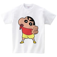 Crayon Shin-chan Clothing Japan Anime Children T Shirt Shin Chan Shirts Kids Clothes Brand for Boy and Girl 2-12Yeas