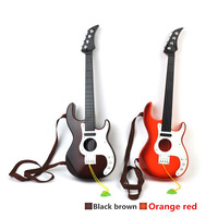 1pcs Plastic Guitar Baby Developmental Musical Kids Instruments Baby Music Toys Preschool Children Musical Instruments