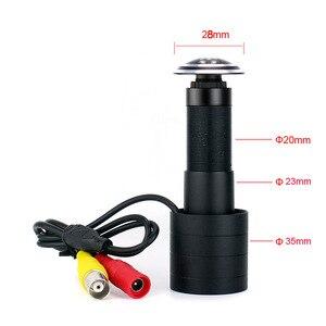 Image 1 - Камера видеонаблюдения, аналоговая мини камера для наблюдения за домом, 800TVL, рыбий глаз, широкий обзор