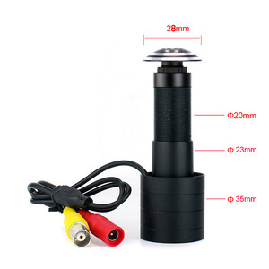 Image 1 - 800TVL fish eye Lens wide view Door Viewer CVBS Analog Mini Camera for door view home security monitoring