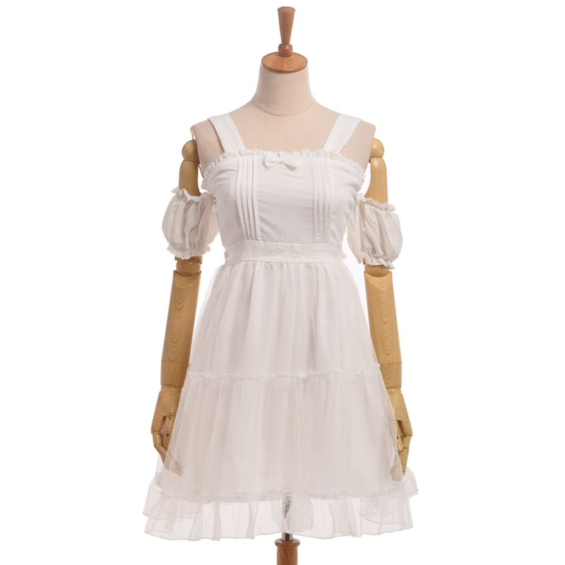 Liane v white dress nun