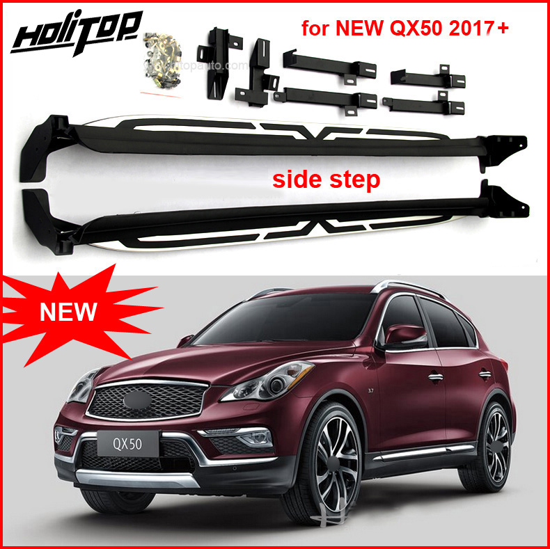 for INFINITI QX50 QX30 2016 2017 OE running board side step foot pedal new arrival professional