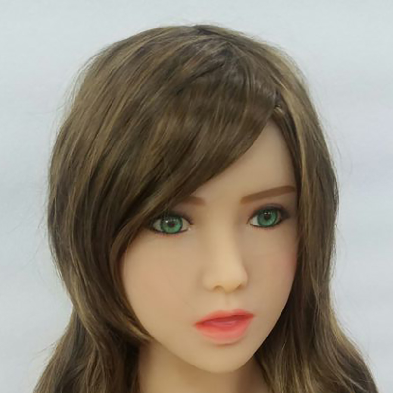 tpe Oral Sex Doll Head 13cm Hole for Realistic 140 to 172cm Adult Body Love Doll Toys