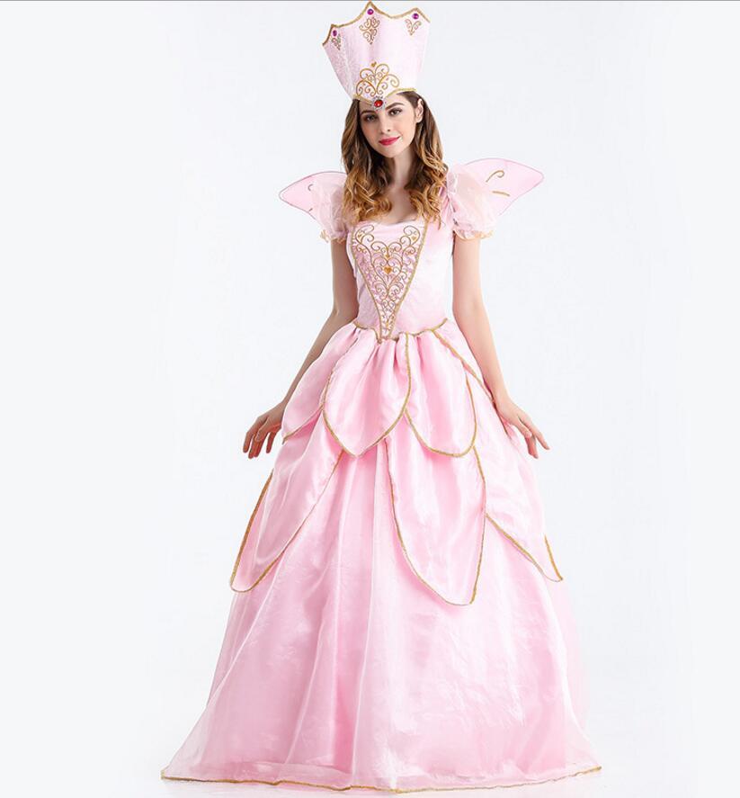 Hada madrina vestido rosa vintage corte vestido adulto mujeres ...