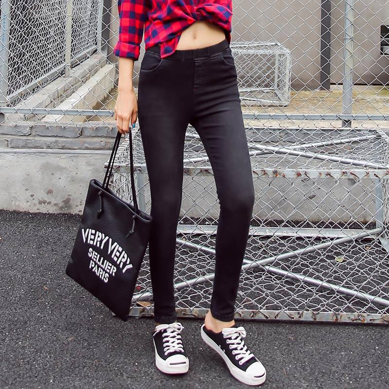 BIVIGAOS Basic Skinny Womens Jeans Ankle Pencil Pants Slim Elastic Denim Pants Jean Leggings Female Cotton Jeggings Jeans Women 59