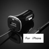 Thbelieve Car Charger For IPhone 6 7 8 Plus Mobile Phone USB Car Charging For IOS 9 10 11 Auto Charge With Cables For Iphone 7 8