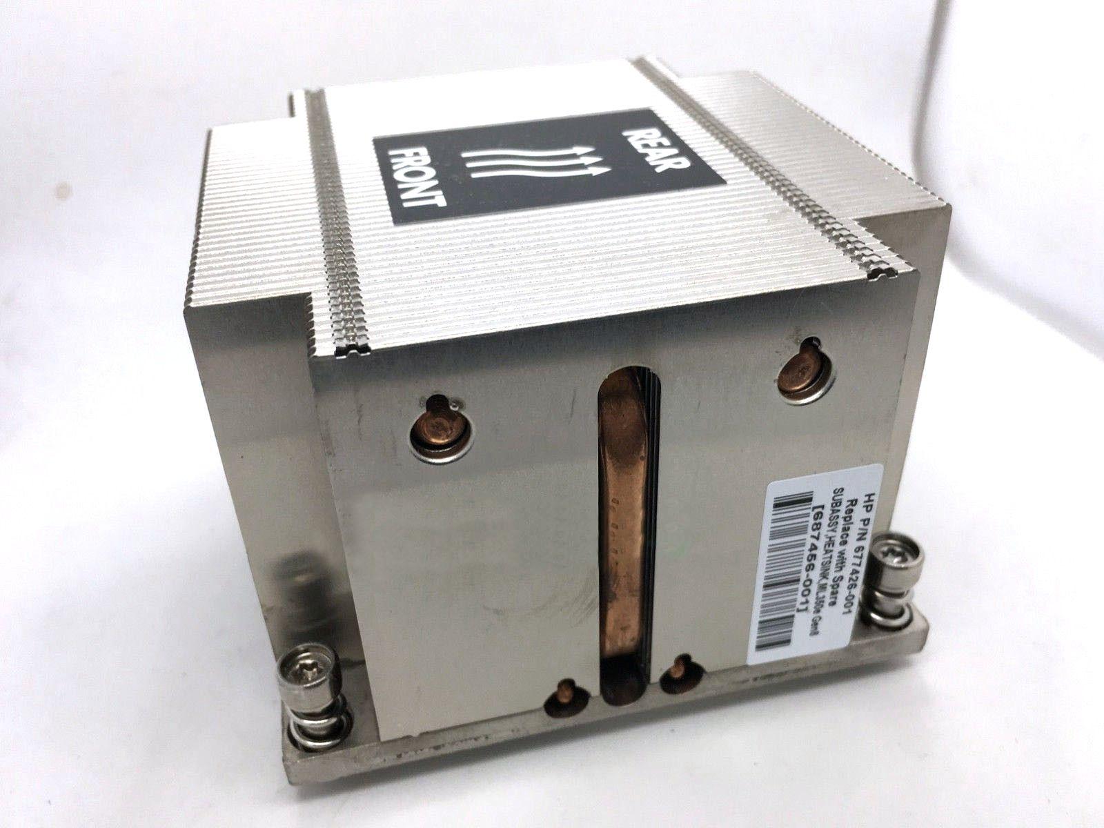 Brand new PER HP ML350e Gen8 v1 v2 Server dissipatore di calore 677426-001 687456-001Brand new PER HP ML350e Gen8 v1 v2 Server dissipatore di calore 677426-001 687456-001