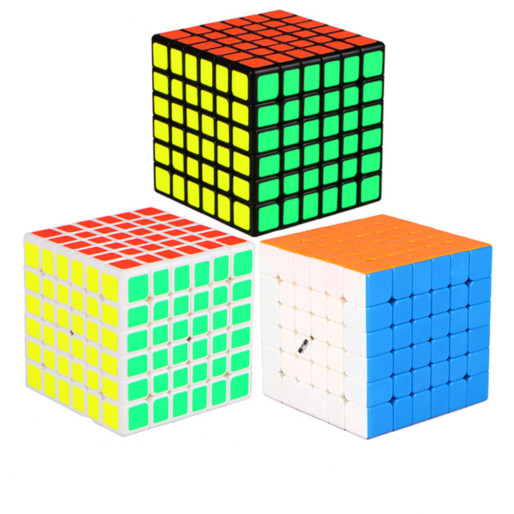 MO FAGNG GE Wu Hua 6*6*6 Magic Cubes Puzzle Speed Competition Rubiks Cube Educational Toys Gifts for Kids Children