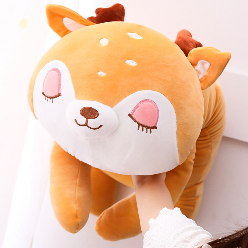 Cute Dog Plush Toy Baby Kids Long Sleeping Pillow Doll Hot Child Birthday Gifts