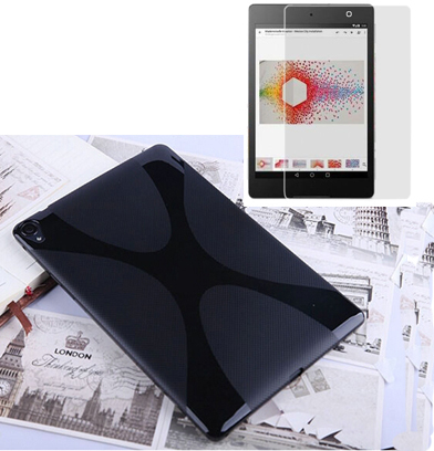 1x Screen Protector, Ultra Thin Silicone X Line Soft Silicon Rubber TPU Gel Shell Cover Case For Google Nexus 9 Nexus9 2015 8.9 kris line consuela1 soft 1