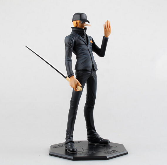 ФОТО 1pcs Japana anime character One piece POP CP9 Ecki action pvc figure toys tall 22cm in box.