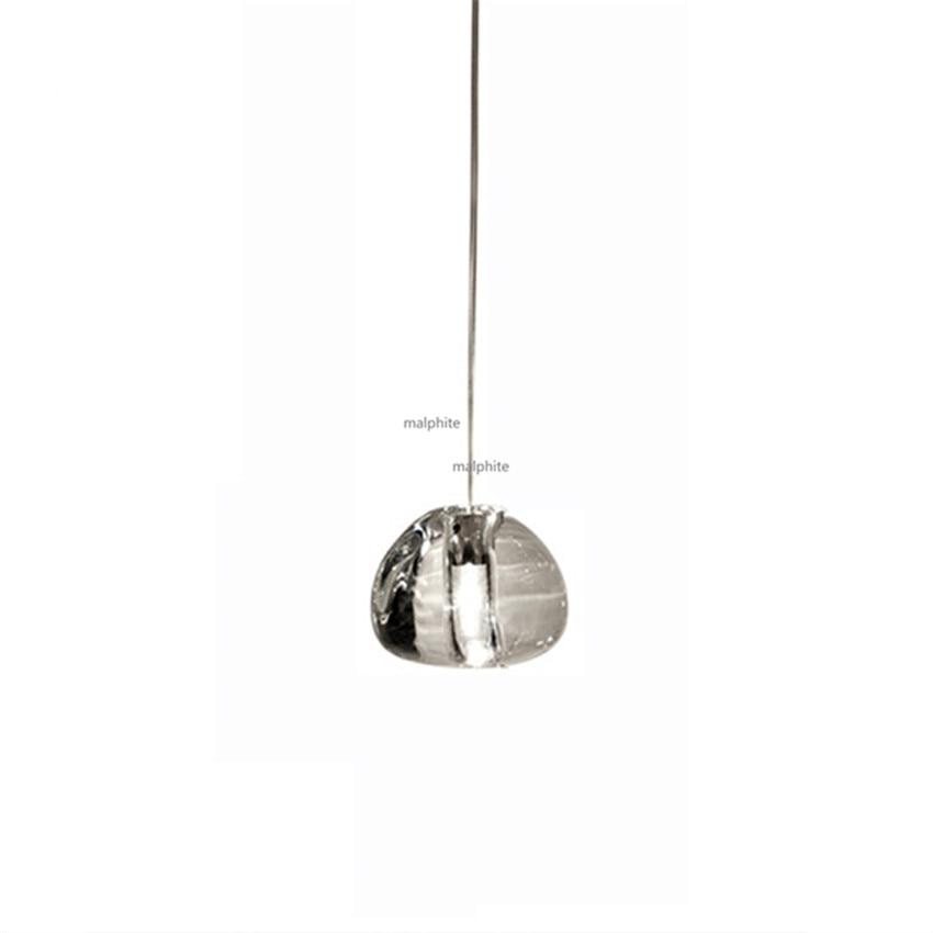 Nordic Crystal Ball Decor LED Pendant Lamp Restaurant Luxury Design Hanglamp Living Room Bedroom Novelty Lighting Light Fixture in Pendant Lights from Lights Lighting