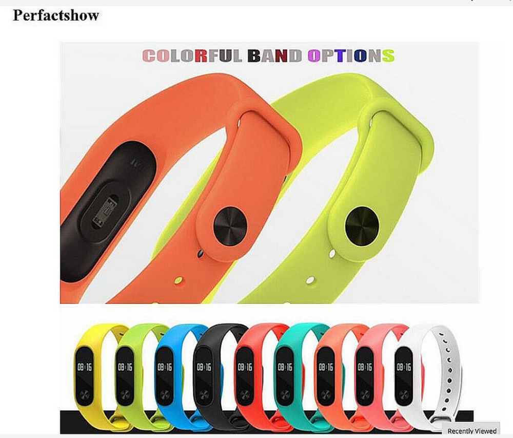 MiBand 2 Silicone Replace Strap For original Xiaomi Mi Band 2 Wristbands Smart Bracelet Colorful belt rubber watchband free ship все цены