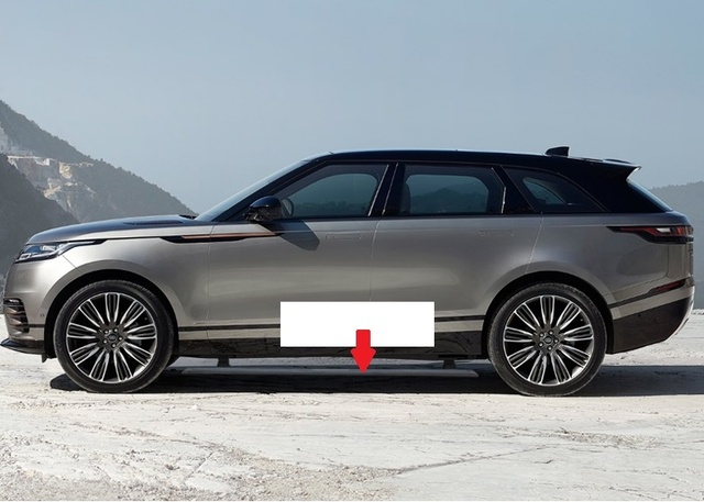 Aluminium Electric Running Board Side Step Nerf Bar For Land Rover Range Velar 2018 2019 Good Quality