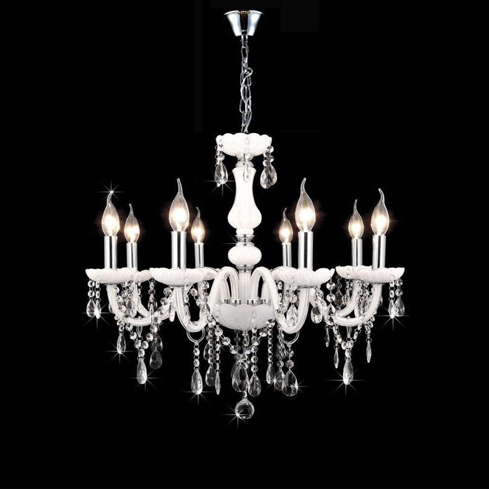 Compare Prices on Candle Crystal Chandelier Online ShoppingBuy – White Candle Chandelier
