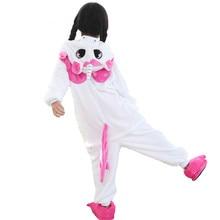 New Baby Boys Girls Pajamas Autumn Winter Children Flannel Animal Funny Animal Pink Unicorn Pajamas Kid Onesie Sleepwear