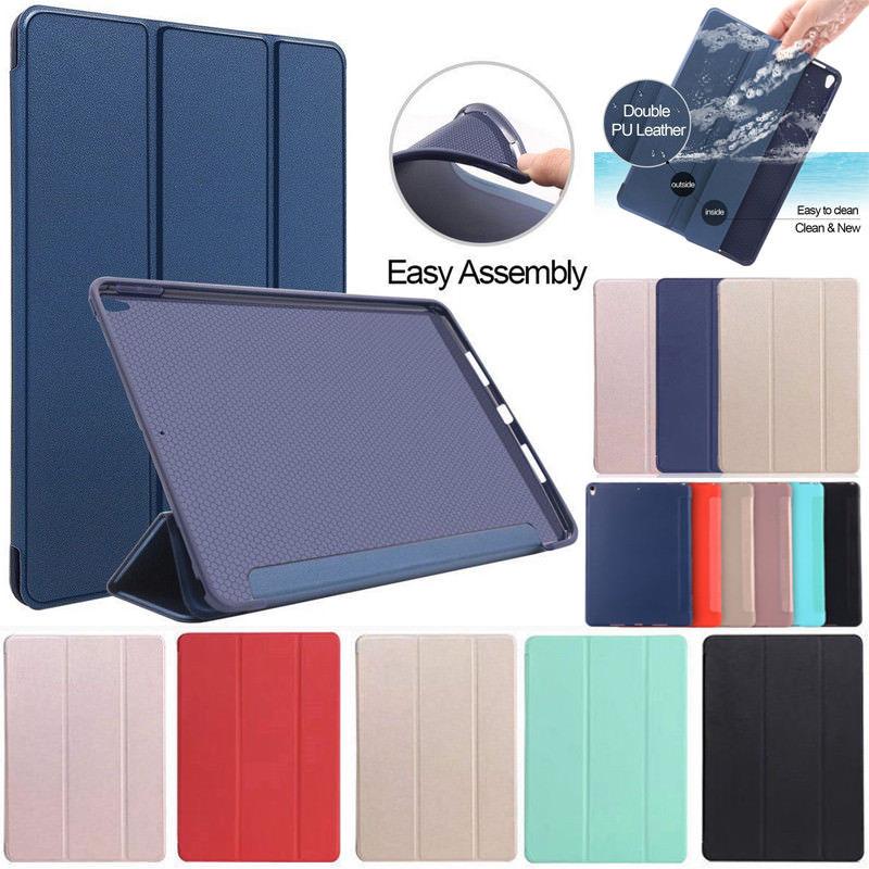 Case for iPad Mini 4 3 2 1 Case PU Leather Silicone Soft Back Trifold Stand Auto Sleep/Wake up Smart Cover for iPad Mini 2 Case