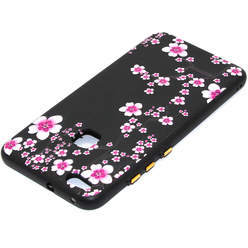 3D Relief flower silicone huawei P10 lite (41)