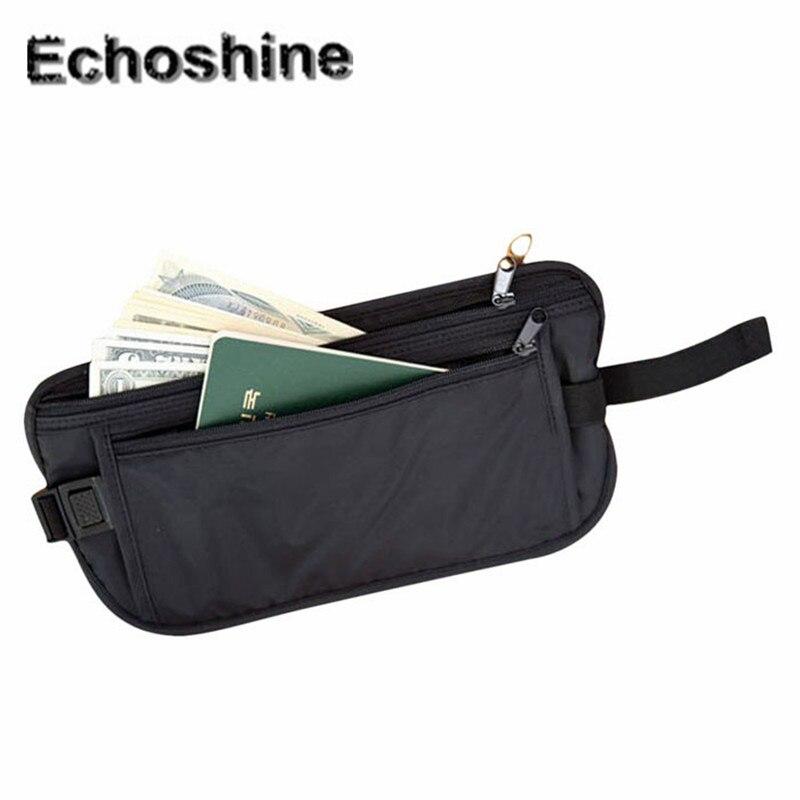 2016 Mode Wasserdichte Sicherheit Taschen Brieftasche Casual Reisen Lagerung Reißverschluss Taille Tasche Reisen Und Tägliche Taschen Großhandel A2000 In Vielen Stilen