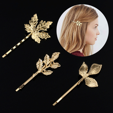 US $0.3 20% OFF|1PC Beautiful And Elegant Girls barrettes Hair Accessories Fashion New Woman Bride Metal Leaf Hair Clips Pearl Hairpin Two Type-in Women's Hair Accessories from Apparel Accessories on AliExpress - 11.11_Double 11_Singles' Day