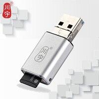 카 3.0 OTG 카드 리더 고속 미니 어댑터 마이크로 SD 카드/TF 카드 슬롯 휴대 전화 메모리 카드 리더 C326