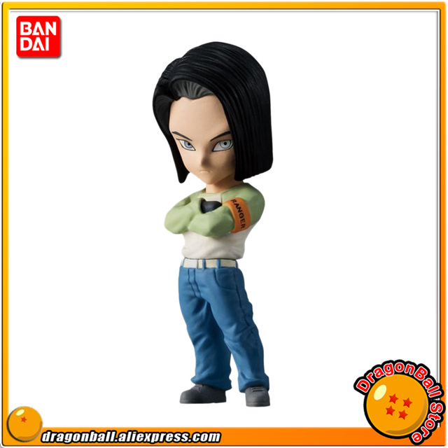 Us 19 88 Japan Anime Dragon Ball Super Original Bandai Adverge Shokugan 06 Collection Figure Android 17 In Action Toy Figures From Toys