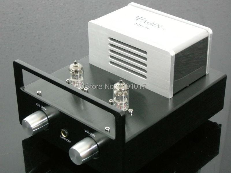 YAQIN PH 5L 6J1 x 2 Tubes headphone amplifier HIFI EXQUIS valve vacuum lamp headphone amp