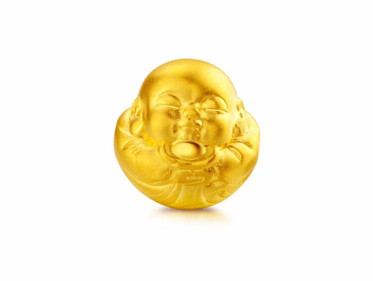 New   Style Real 24k Yellow Gold Pendant 3D Lucky Carved Bless Buddha PendantNew   Style Real 24k Yellow Gold Pendant 3D Lucky Carved Bless Buddha Pendant