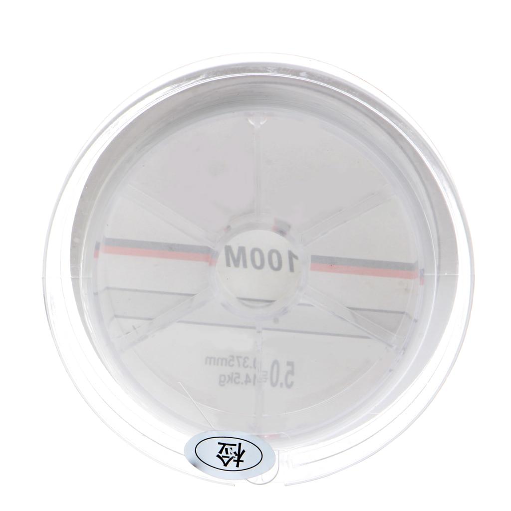 100M Nylon Angelschnur Transparent Super Strong Monofilament Durable Tackle Neu