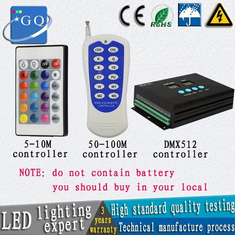 5m IR Controller, 50meter RF Controller, DMX512 Controller For RGB Light