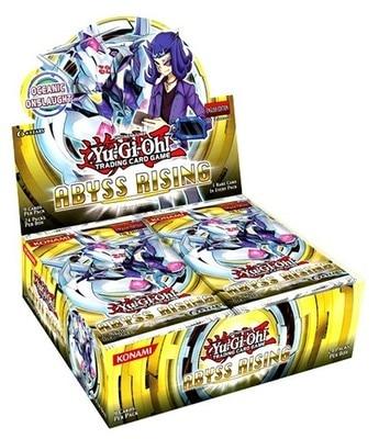 Yu Gi Oh jeu roi anglais ABYSSRISING802 supplément Pack carte de jeu classique carte de Collection