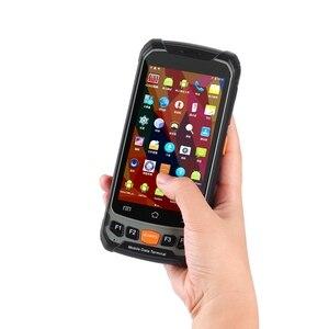 Image 1 - 4,7 дюймовый Android 7,0 2D сканер штрих кода RAM 2 Гб ROM 16 Гб портативный терминал