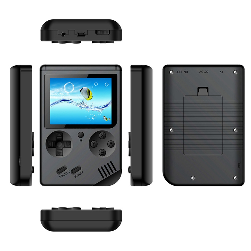 Image 4 - Coolbaby Retro Mini 2 Rs 6A Handheld Game Console Emulator Built In 168 Games Video Games Handheld Console(Black)-in Handheld Game Players from Consumer Electronics
