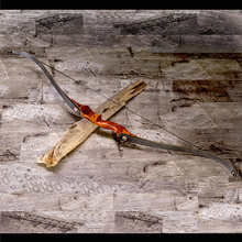 Демонтаж черный деревянный китайский изогнутый стрельба из лука лук и стрела Спорт для продажи лук стрельба арбалет охота Рогатка