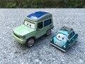 Pixar Автомобилей Фильм 2 1:55 Металл Литья Под Давлением Майлз Axlerod и Профессор Z 2 шт. Set Toy Cars Новые Свободные