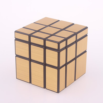 Original magic speed  mirror cube sticker block Puzzle Cast Coated Cube professional learning education toys for children 7