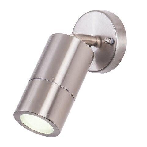 brilhante redondo ip65 moderno conduziu lampada parede ajustavel superficie montada ar livre conduziu luz parede