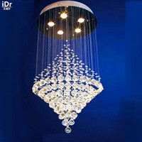 Modern flush mounted ceiling lighting large high-quality ceiling lamp D50cm x H100cm