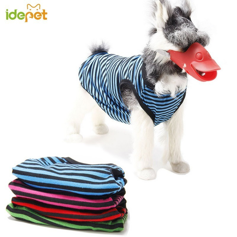 Dog Summer Clothes For Small Dog Shirts Puppy Pet Shirt Sport Soccer Jersey Cat Striped Vest Outfit Spring Pet Coat Cat Clothes