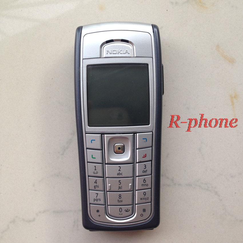 Цена за 6230i Оригинал NOKIA 6230i Телефон 2 Г GSM Разблокирована Арабский Английский Русский Клавиатура и Подарков & Один год гарантии