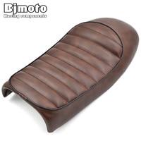 Bjmoto moto Vintage Hump Cafe Racer Saddle seat cowl for CB450 CB500 CB550 CB650 CB750 CG125 GN250 KZ400 KZ550 K750 Z650 W650