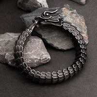 Dragon bracelet for men stainless steel fashion Jewelry