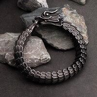 Dragon bracelet for men stainless steel fashion Jewelry