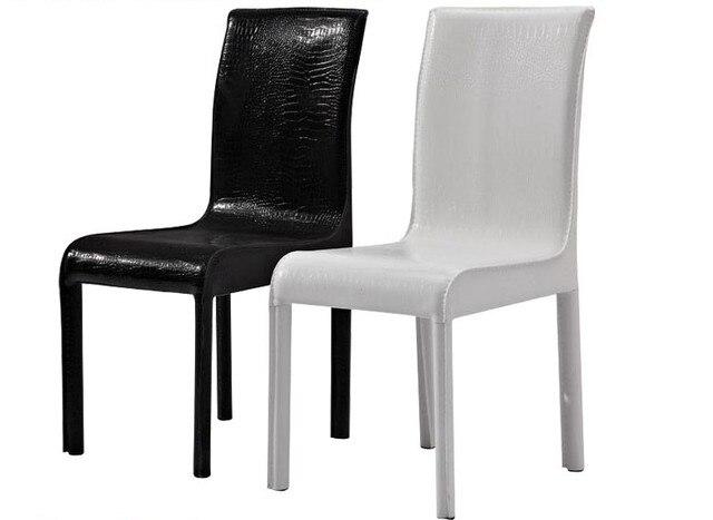 € 88.6 |Salón Comedor Comedor Chiar, PU de Cuero de Estilo Moderno, precio  bajo de alta calidad muebles de comedor sillas Y103 en Sillas de Comedor de  ...