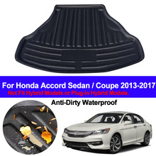 Carpets Trunk Mats-Pad Tray Floor-Mat Cargo-Liner Rear-Boot Sedan/coupe Honda Accord