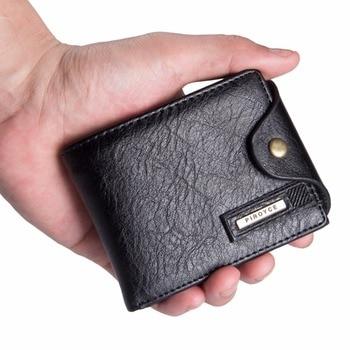 Malá štýlová pánska peňaženka Piroyce – 2 farby