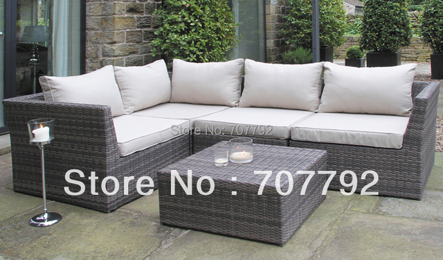 Pacific Warwick 5 Piece Sectional Rattan Sofa Suite